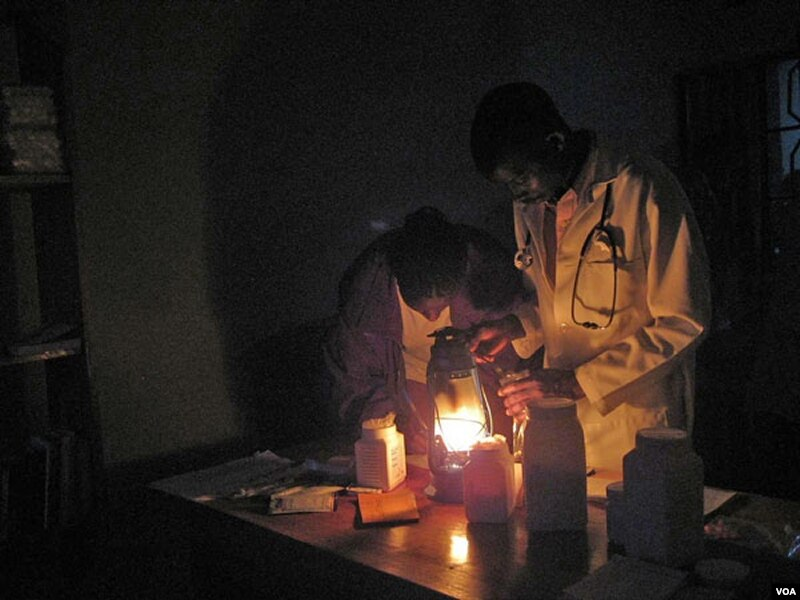 Solar Energy Illuminates Darkest Parts of Africa