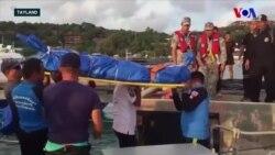 Tayland'daki Tekne Kazasında Ölenlerin Sayısı Yükseldi