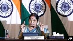 سوشما سواراج، وزیر خارجۀ هند