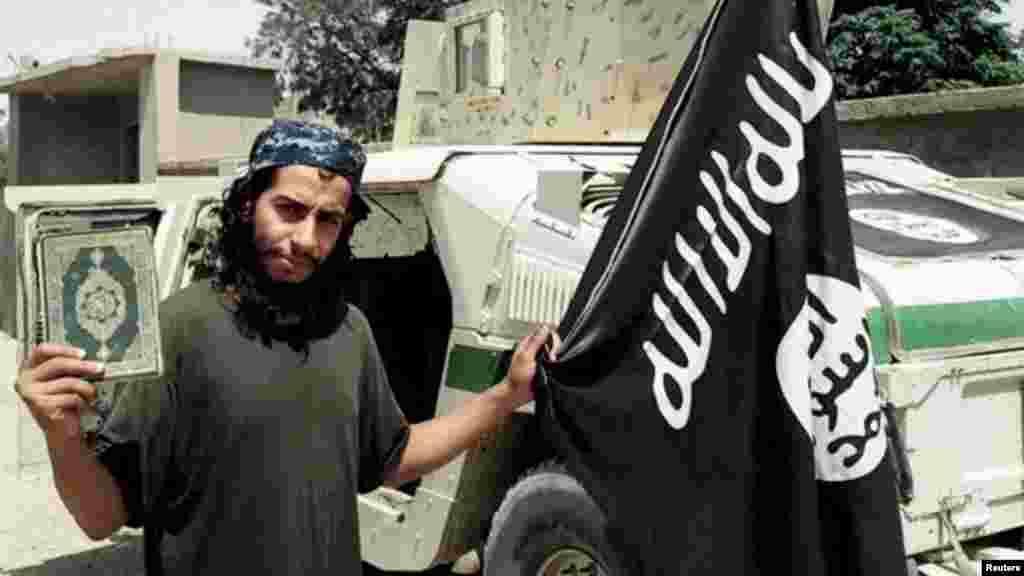 Un photographie non datée d'Abdelhamid Abaaoud tué le 18 novembre 2015 lors de l'assaut des forces de sécurité françaises à Paris