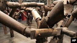 "The art work ""Fragments"" (2005) of Ai Weiwei, (File)."