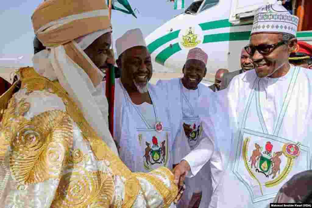 KANO: Ziyarar shugaba Buhari a Kano