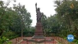 Monuments de renommée mondiale recréés dans le métal en Inde