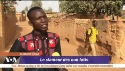Dabross, le slameur des non lotis au Burkina