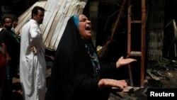 Sadr siti, u Bagdadu, posle napada