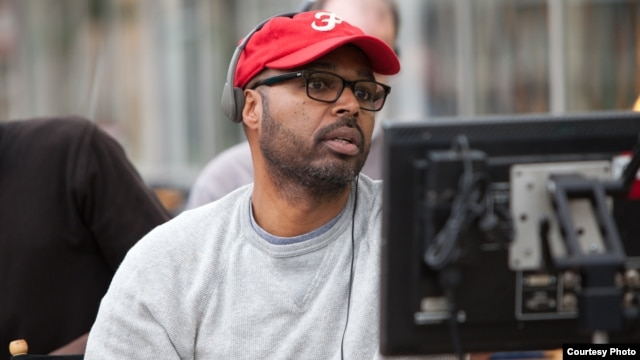 Director Salim Akil on the set of TriStar Pictures' SPARKLE. (Photo: Alicia Gbur) © 2012 Stage 6 Films, Inc. All Rights Reserved
