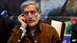 Abdula Abdula tokom predizbornog skupa u Kabulu