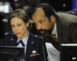 """Vera Farmiga, left, in a scene from """"Source Code"""""""