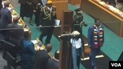 UMnangagwa wethekelela eleBotswana