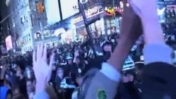 美國示威者抗議不起訴致黑人死亡的白人警員