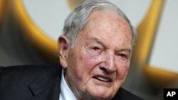 David Rockefeller falleció en su residencia en Nueva York a la edad de 101 años.