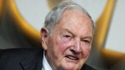 ဘီလီယံနာ ပရဟိတအလွဴ ရွင္ David Rockefeller (၁၀၁ ႏွစ္) ကြယ္လြန္