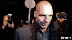 Yanis Varoufakis, menteri keuangan baru Yunani yang mengecam kesepakatan dana talangan (27/1).