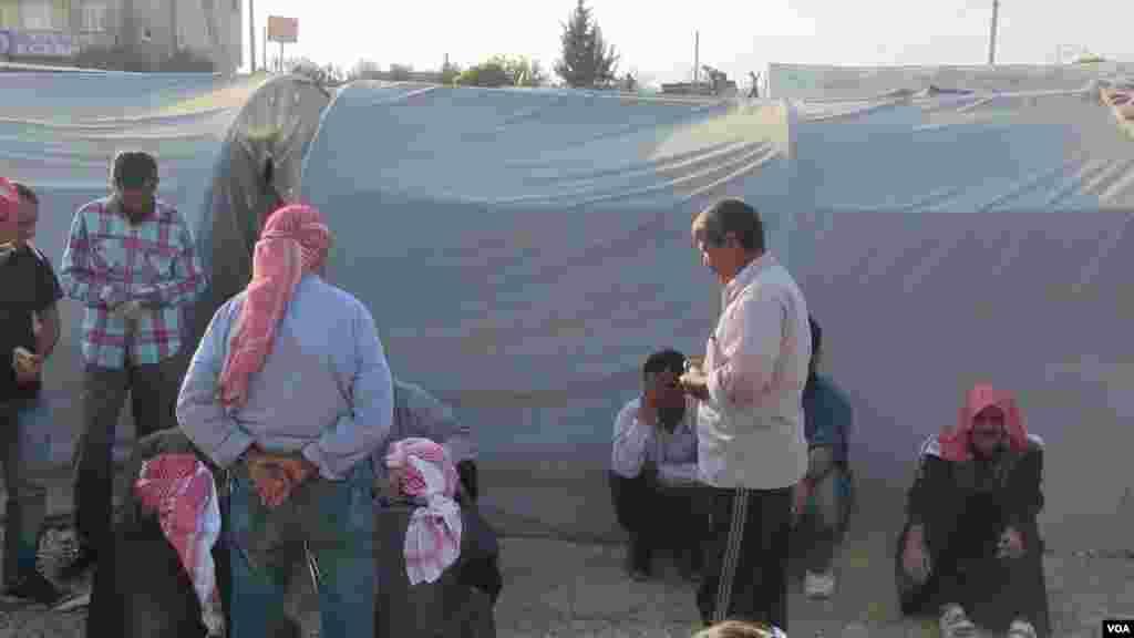 Kurdish refugees Kobani