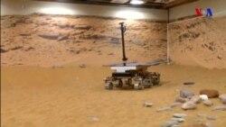 Avropa Kosmik Agentliyi Mars roverini sınaqdan keçirir