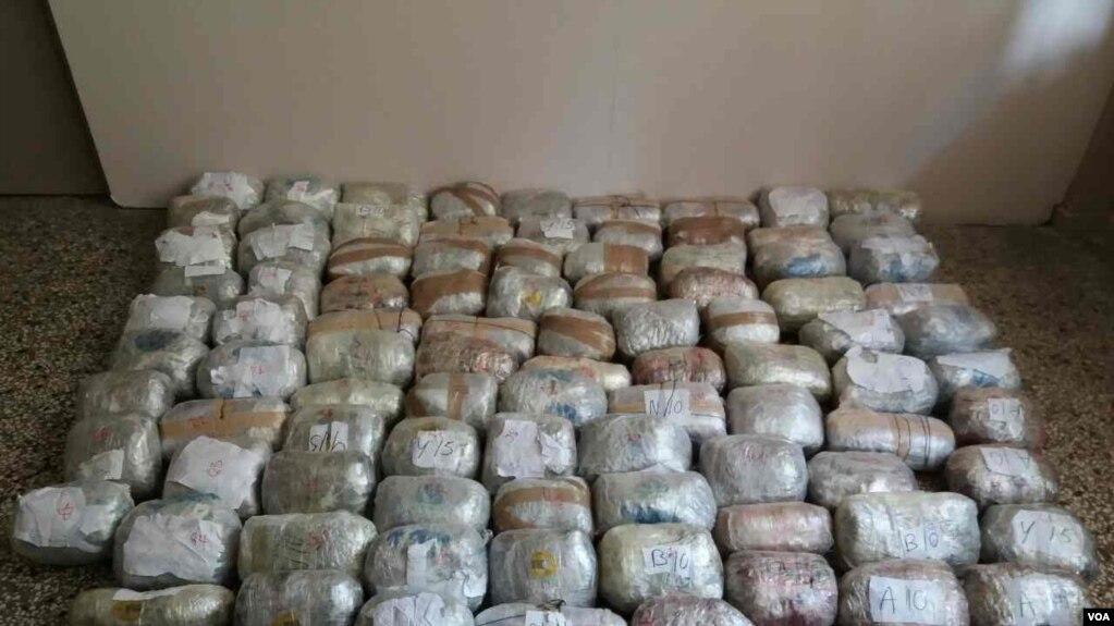 Sasi të mëdha narkotikësh të bllokuara nga policia shqiptare dhe greke