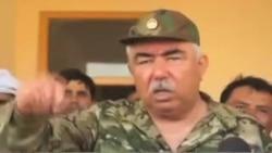 اظهارات جنرال دوستم در مورد عملیات در ولایت فاریاب