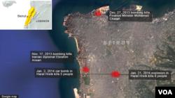 Explosions in Lebanon