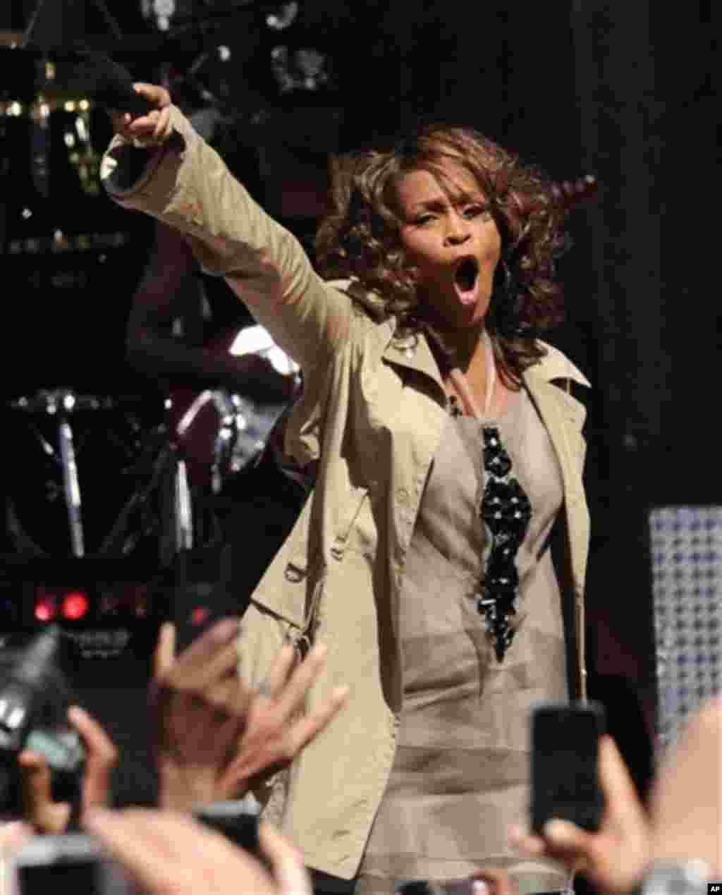 An yi bukin tunawa da rayuwar mawakiya Whitney Houston