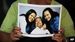 Уго Чавес c дочерьми