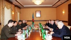 ATƏT-in Minsk qrupunun həmsədrləri müdafiə naziri ilə görüşüb