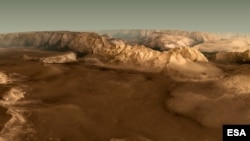 Valles Marineris (ESA)