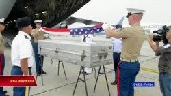 Việt Nam bàn giao hài cốt quân nhân Mỹ