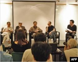 罗智成与香港传媒叙会