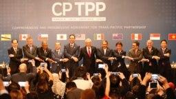 跨太平洋11國2018年3月8日簽署《全面與進步跨太平洋夥伴關係協定》(CPTPP)。