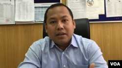 Long Dimanche, a spokesman for City Hall, said Phnom Penh remains at risk, simply because of geography. (Photo: Phorn Bopha/VOA Khmer)