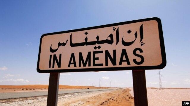 Cơ sở khai thác khí đốt Amenas ở miền đông Algeria gần biên giới Libya.