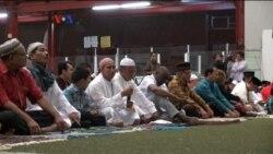 Diaspora Indonesia Sholat Ghaib untuk Para Korban di Tanah Suci