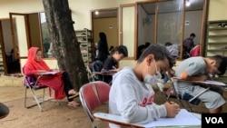 Siswa SD RLC tengah tempuh ujian