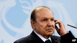 Alžirski predsednik Abdelaziz Buteflika