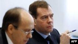 Дмитрий Медведев на заседании Национального антитеррористического комитета