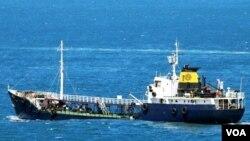 მცირე ტანკერი REX, რომელსაც ქართველი კაპიტანი მართავდა და რომელიც ლიბიაში 2017 წლის აგვისტოში დააკავეს
