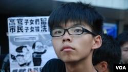 學民思潮召集人黃之鋒認為,國民教育會箝制香港下一代的思想自由