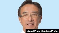 香港自由黨(Liberal Party)黨魁、立法會議員田北俊(James Tien)(資料照片)