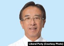 香港亲建制派自由党党魁田北俊议员(James Tien)