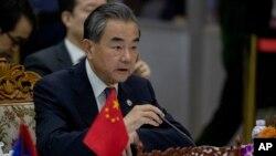 中國外交部長王毅資料照片。