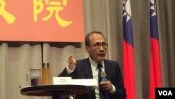 台湾行政院院长林全(美国之音记者申华拍摄)