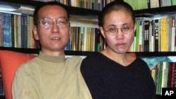 劉曉波和太太劉霞(資料照)