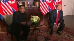 گەشبینی سەرۆک ترامپ بە کۆبوونەوەکانی لەگەڵ کیم جۆنگ ئون