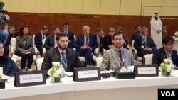 کانفرنس میں خواتین مندوبین نے بھی شرکت کی