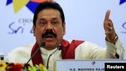 Militer Sri Lanka dituduh memihak Presiden Mahinda Rajapaksa dalam pemilu sebelumnya (foto: dok).