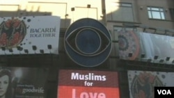 Video poruka mira na Times Square-u u New Yorku