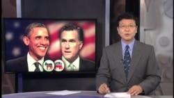 美国总统竞选在冲刺时刻角逐激烈