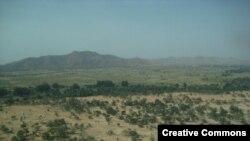 Vue près de la ville de Goz Beïda, dans l'est du Tchad, le 28 février 2010. (CC/Dans)