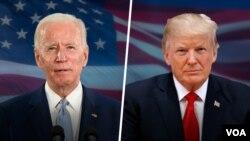 دونالد ترامپ و جو بایدن