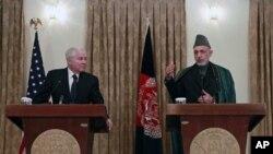 امریکی وزیرِدفاع جنوبی افغانستان کے دورے پر